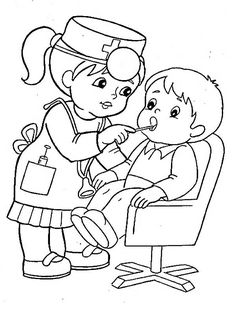 Image may contain: drawing Preschool Coloring Pages, Coloring Sheets For Kids, Colouring Pages, Printable Coloring Pages, Coloring Books, Cinderella Coloring Pages, Community Helpers Preschool, Dental Kids, Art Drawings For Kids