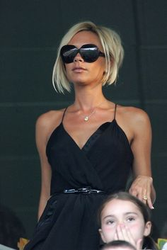 Victoria Beckham - Celebrities At The LA Galaxy vs. Chelsea FC
