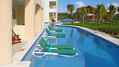 El Dorado Seaside Suites - want to go here! Your suite has a pool right outside your patio! You can just float down the lazy river to the pool bar for a drink! Can't beat that!