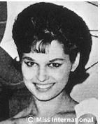Miss International 1962: Australia - Tania Verstak