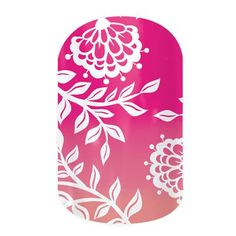 Carmen Ombre nail wraps by Jamberry