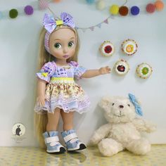 Doll clothes for Disney animator dolls 16.  Doll and shoes not included. :)