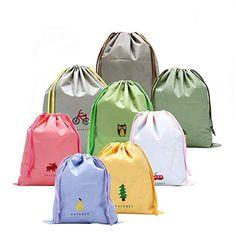 8779f5cb2 8 Piezas Chicas Organizador para maletas Bolsos de Lazo Del Almacenaje para  viajar
