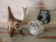 Tristan Totty Pottery Cats