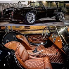 That interior in Shelby Cobra! Das Interieur in Shelby Cobra! Auto Jeep, Jeep Pickup, Dream Cars, Bmw Autos, Pt Cruiser, Toyota Prius, Kit Cars, Amazing Cars, Awesome