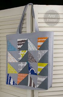 Tote bag using Bella by Lotta Jansdotter