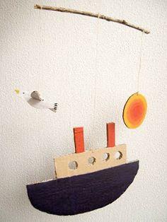 mobile - lifeboat seagull sea sun...