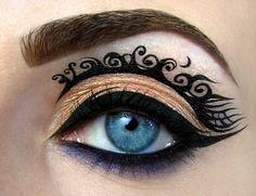 Tim Burton inspired make up look https://www.makeupbee.com/look.php?look_id=88273