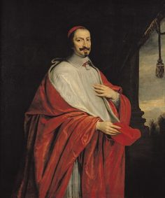 artist unknown - Cardinal Jules Mazarin (1602-61) collection of Chateau Versailles, France
