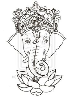 Ganesha Tattoo by ~Metacharis on deviantART
