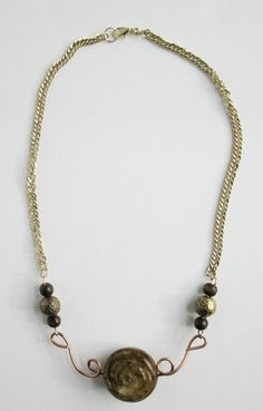 Jade Rose Necklace 2 by Serendipitini on Etsy, $15.00 https://www.etsy.com/listing/119471841/jade-rose-necklace-2
