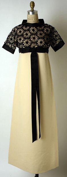 Daisy Corded Lace Evening Dress, fall/winter 1967-68 Pierre Cardin