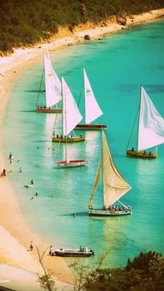 Go sailing along beautiful Fiji #wanderingsole