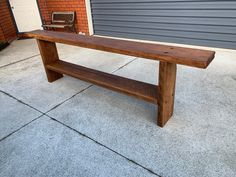 Outdoor Furniture, Outdoor Decor, Wood Projects, Bench, Home Decor, Decoration Home, Room Decor, Wood Working, Home Interior Design