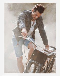 "David Gandy for ""California Dreaming"" Lucky Brand, Summer 2014."