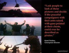 QUIEN ES EL VERDADERO PIRATA? Russian Security Services Seize Arctic Sunrise. 09/19/2013 © Greenpeace