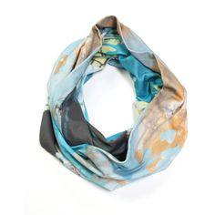 Saturday Morning long infinity scarf