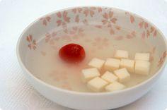 cherry kanten + soy milk
