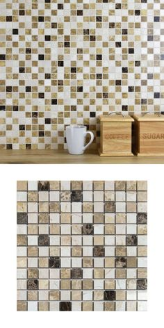 A luxurious polished marble mosaic on a mesh netting, in a fashionable blend of colours. The Individual tile size is There are sheets per square metre and 144 tiles per sheet. Marble Mosaic, Mosaic Tiles, Lincoln Town Car, Kitchen Walls, Mesh Netting, Excursion, Splashback, Self Driving, Make Arrangements