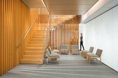 The Wood Innovation and Design Centre (WIDC) serves as a gathering place forresearchers, academics, design professionals and others interestedin generating ideas for innovative uses of wood. The University of Northern BC will occupy the lower three floors of the building with facilities for a proposed Master of Engineering in Integrated Wood Design. Upper floors provide …