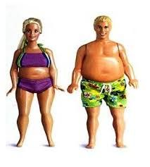 Fat barbie and ken images