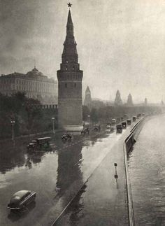ussr in the 50s Black and white Photography