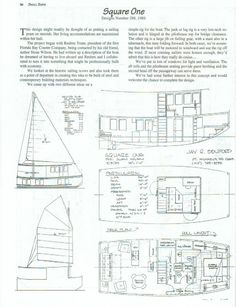 Trailerable Houseboat Plans | Building A Trailerable Houseboat With Simple Plans For Quick Easy ...