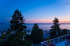 SOLD - 14863 Prospect Ave - $1,450,000 - MLS #1116540 - Panoramic OCEAN VIEWS from every floor of this contemporary beach home! Custom built; features hardwood throughout; sweeping ocean views & 9' ceilings. Gourmet kitchen features stainless appliances. Large appointed Living & Dining Rooms lead to an extra large deck; wonderful for entertaining. Master bedroom has a private deck with hot tub. 1200 sq ft unauthorized suite offers a great view. Parking for 4 cars. Quiet west side location!