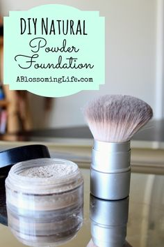 DIY Natural Powder Foundation