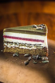 Hungarian Recipes, Tart Recipes, Confectionery, Sweet Life, No Bake Cake, Food Photography, Food And Drink, Sweets, Dishes