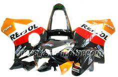 Carenado de ABS de Honda CBR900RR 954 2002-2003 - Repsol