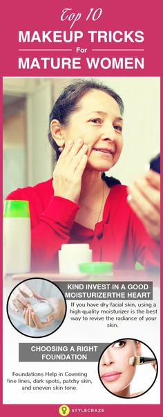 For women in their golden years, putting on makeup is more about looking younger but wrong makeup can instead make things worse! So, what's the solution? Using makeup techniques that lay a greater emphasis on the concept of anti-ageing! Right from makeup articles to the method of application, the focus lies on camouflaging the signs of ageing as much as possible.