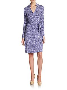 15 minutes with you.....DVF wrap dress