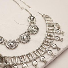 One of my favorite discoveries at WorldMarket.com: Silver Oversized Statement Necklace