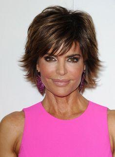 Lisa Rinna Layered Razor Cut - #21 of 920 Short Hairstyles Lookbook - LOVE this!
