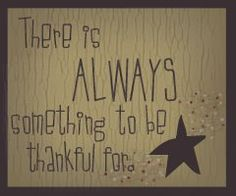 Have a thankful heart!
