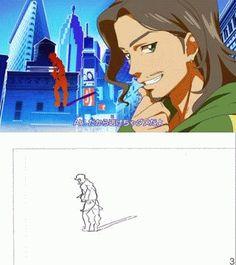 aikatsu! animated dancing genga genga_comparison yutaka_nakamura