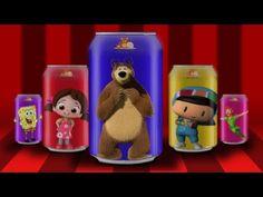 Pepee Maşa Koca Ayı Niloya Sünger Bob ve Peter Pan ile İngilizce Renkleri Öğreniyoruz - YouTube