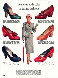 Early 1953 Shoe Ad: