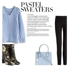 So Sweet: Pastel Sweaters by arrowette-845 on Polyvore featuring polyvore fashion style Chicwish Joseph Akira MICHAEL Michael Kors clothing pastelsweaters