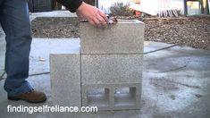 DIY Rocket Stove - Simple Homemade Rocket Stove