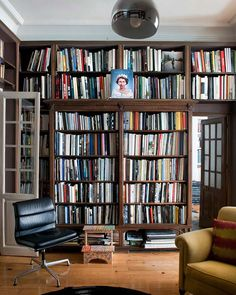 Library full of luscious books.
