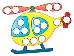 (2015-10) 15 huller, helikopter