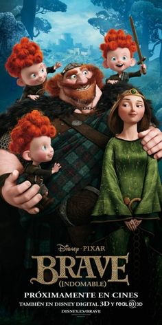 i am so excited that disney have made a scottish film full of gingers ! BRAVE