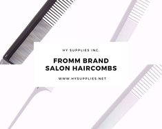 Get Superior Quality, Wholesale Hairstyling combs ideal for Hairstylist and Beautician from HY Supplies Inc. #saloncombs #haircombs #salonaccessories #salonhaircombs Beauty Industry, Superior Quality, Hair Comb, Salons, Hair Styles, Hair Plait Styles, Lounges, Hair Makeup, Hairdos