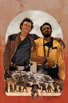 Marvel comics for March: this is the cover for Solo: A Star Wars Story Adaptation drawn by Phil Noto. Star Wars Trivia, Star Wars Facts, Star Wars Comics, Marvel Comics, Starwars, Phil Noto, Lando Calrissian, Star Wars Images, Original Trilogy