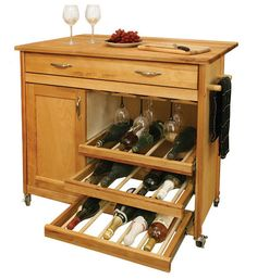 The cool Wooden Wine Kitchen Cabinet Furniture Example Rolling Wooden Kitchen Cabinet Furniture digital imagery above Mobile Kitchen Island, Rolling Kitchen Island, Kitchen Island Cart, Kitchen Islands, Kitchen Carts, Kitchen Ideas, Kitchen Decor, Outdoor Kitchen Cabinets, Wine Cabinets