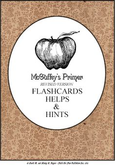 McGuffey's Primer Flashcards, Helps and Hints | Large Family Mothering