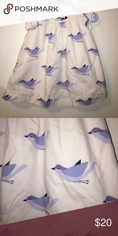 Baby Gap Bird Infant Baby Girl Dress Size 3-6M Hi! This beautiful dress was worn once or twice and is like new! It has been kept in a clean, smoke free, pet free home. Please check out my closet as I offer a bundle discount of 20% off any three listings! Thanks! 😊 GAP Dresses Casual