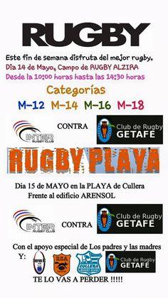 Salva la veu del Poble: Fin de semana de rugby juvenil (categorías M-12,14...